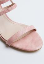 Miss Black - Della heel - pink
