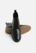 Superbalist - Ski hook leather boot - brown