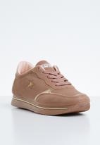 SOVIET - L fergie sneakers - pale pink