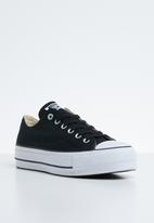 Converse - Chuck Taylor all star lift - black & white