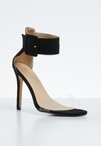 Public Desire - Elevenses heel - black