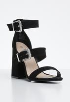 Miss Black - Lavanda heel - black