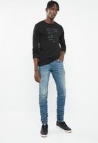 G-Star RAW - Staq 3D slim fit jeans - blue