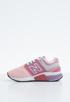 New Balance  - 247 V2 kids sneaker - pink