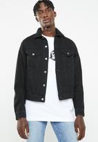 Cheap Monday - Legit denim jacket - black