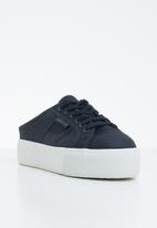SUPERGA - 2284 Cotw Wedge Push In - navy/white