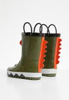 POP CANDY - Monster rain boot - green
