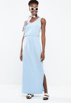 Vero Moda - Rebecca maxi dress - blue