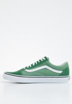 Vans - Old Skool - deep grass green/true white