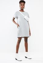 Vero Moda - Blaire short sleeve dress - grey