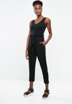 Superbalist - Paperbag joggers - black