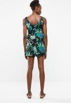 Vero Moda - Simply easy playsuit - black