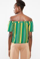 Superbalist - Off the shoulder wrap front top - multi