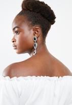 New Look - Go short sleeve frill bardot crop - white