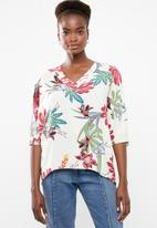 Superbalist - V-neck blouse - multi