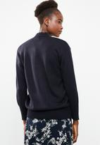 Superbalist - Slouchy pocket detail cardigan - navy