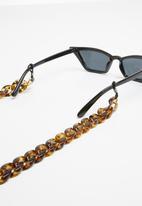Superbalist - Chunky sunglasses chain - brown