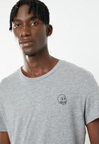 Cheap Monday - Standard tiny skull short sleeve tee - grey