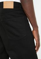 Cheap Monday - Sound regular fit straight leg jeans - black