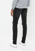 Cheap Monday - Haze cut tight fit jeans - black