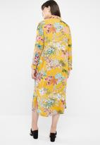STYLE REPUBLIC PLUS - Maxi shirt dress - multi