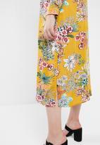 STYLE REPUBLIC PLUS - Maxi shirt dress - multi