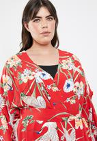 STYLE REPUBLIC PLUS - Volume sleeve kimono - multi