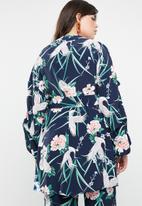 STYLE REPUBLIC PLUS - Volume sleeve kimono - multi