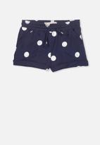 Cotton On - Nila knit short - navy