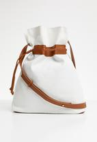 Superbalist - Willow sling bag - cream & tan