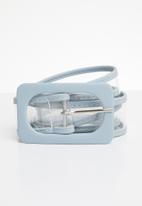 Joy Collectables - Skinny belt - blue
