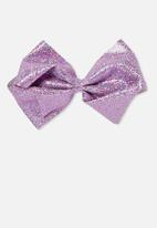 Cotton On - Statement bows - purple