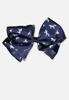 Cotton On - Statement bows - navy