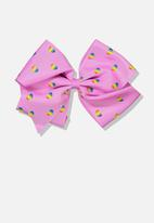 Cotton On - Statement bows - pink