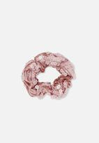 Cotton On - Bow scrunchie - pink