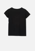 Cotton On - Penelope short sleeve tee - black