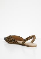 Superbalist - Tammy slingback pump - leopard