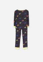 Cotton On - Harry boys long sleeve pyjama set - black