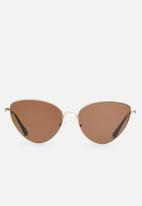 Superbalist - Crook sunglasses - gold & brown