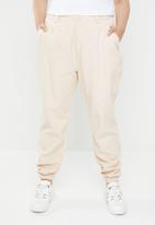 Missguided - Curve combat trousers - cream