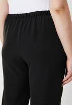STYLE REPUBLIC PLUS - Self-tie trouser - black