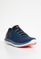 Under Armour - UA slingride - petrol blue black & coho