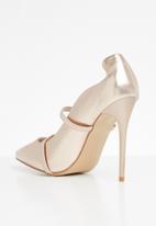 Miss Black - Melany heel - rose gold