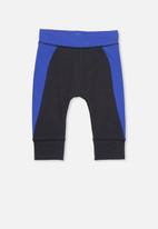 Cotton On - Mini legging - blue & black
