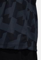 adidas Performance - Tango AOP jersey - black
