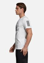 adidas Performance - Sid crew short sleeve tee - white & black