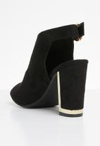 Miss Black - Aimee heel - black