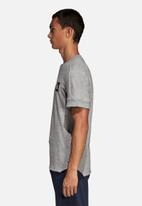 adidas Performance - ID 3 stripe tee - grey