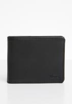 Vans - Drop V bilfold wallet - black