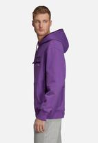 adidas Originals - Kaval graphic hoodie - purple